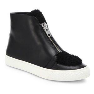 NWT Loeffler Randall Devin Shearling Sneaker